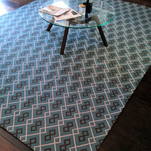 flatweave rugs with table