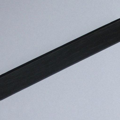 Barre d'escalier chêne noir naturel brillant