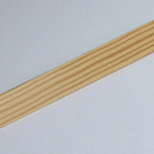 Stair rods, Wood Pine natural gloss