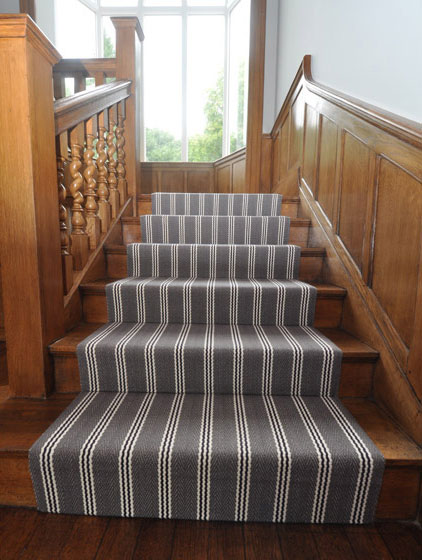 bespoke stair runners, Private House, London