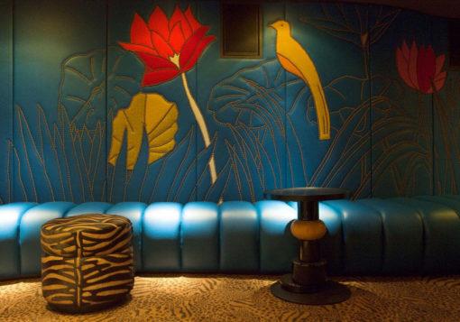 Bespoke wool carpets, Restaurant Le Germain & Club Paradisio, Paris