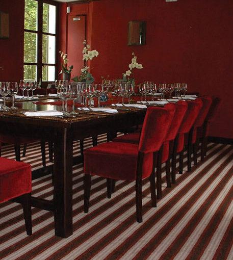 Bespoke wool carpets, Restaurant Le Relais Christine, Paris
