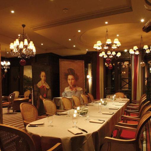 Restaurant Les Etangs de Corot, France