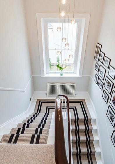Stair runner, Private house, Cheltenham