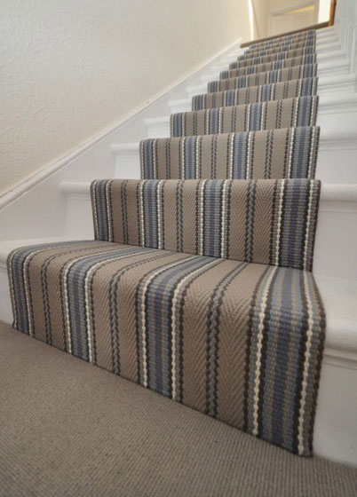 Stair runners, Private house, London