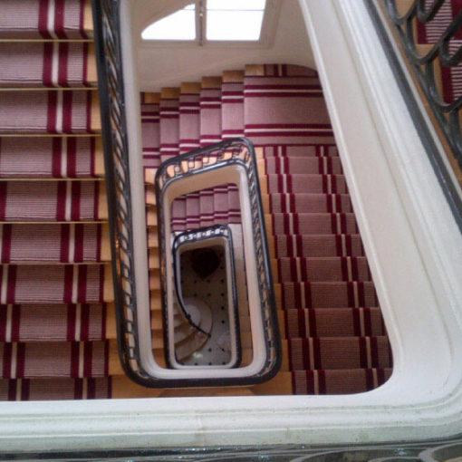 "Stair runners, Embassy ""Côte d'ivoire"", Paris"
