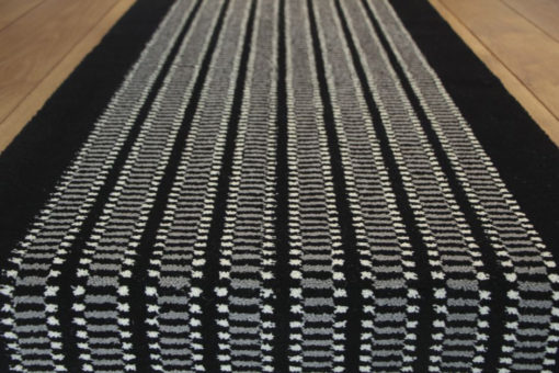 Axminster stair runners, Chess Charcoal
