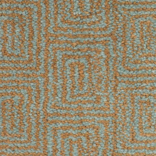Axminster Wool carpet, Escargot Aqua