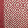 Flatweave Stair runners, Diamond with red border