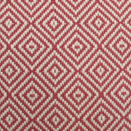 flatweave stair runners with border, Diamond rouge collection