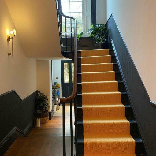 Flatweave Stair runner, Marigold