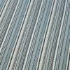 Flatweave stair runner, Stripes Multi, Aqua