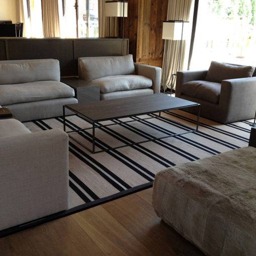 Flatweave rugs, Transat Collection