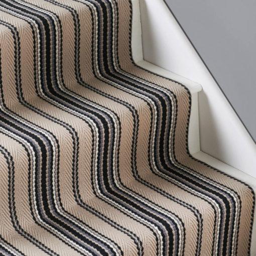 Tapis d'escalier tissé plat, Kelly Linen