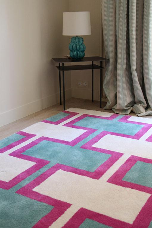 Tufted rugs, Brigthon Aqua