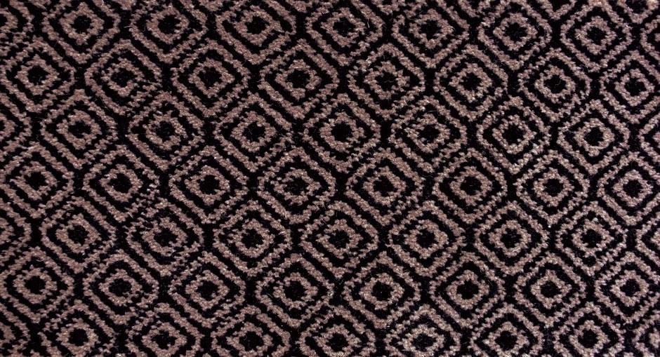 Wool carpets, Diamond Black collection