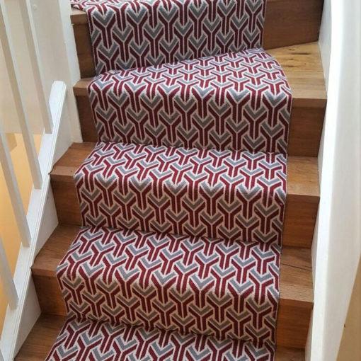 Bespoke stair runners, Trafal Cherry