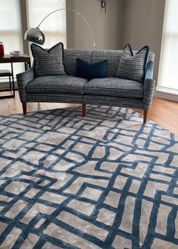 Bespoke tufted rugs
