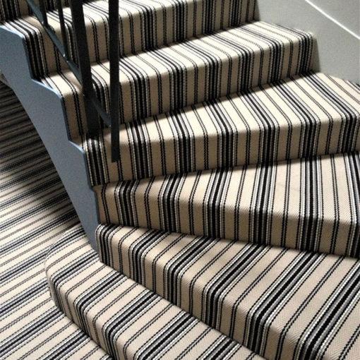 Flatweave Wool carpets and stair runners, JD05