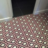 Flatweave wool carpets, Jacquard Hex collection