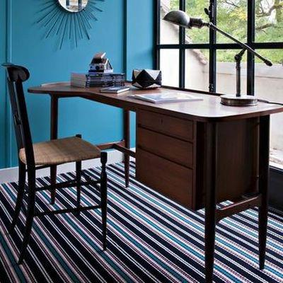 Desk on a flatweave wool carpet Kelly JD